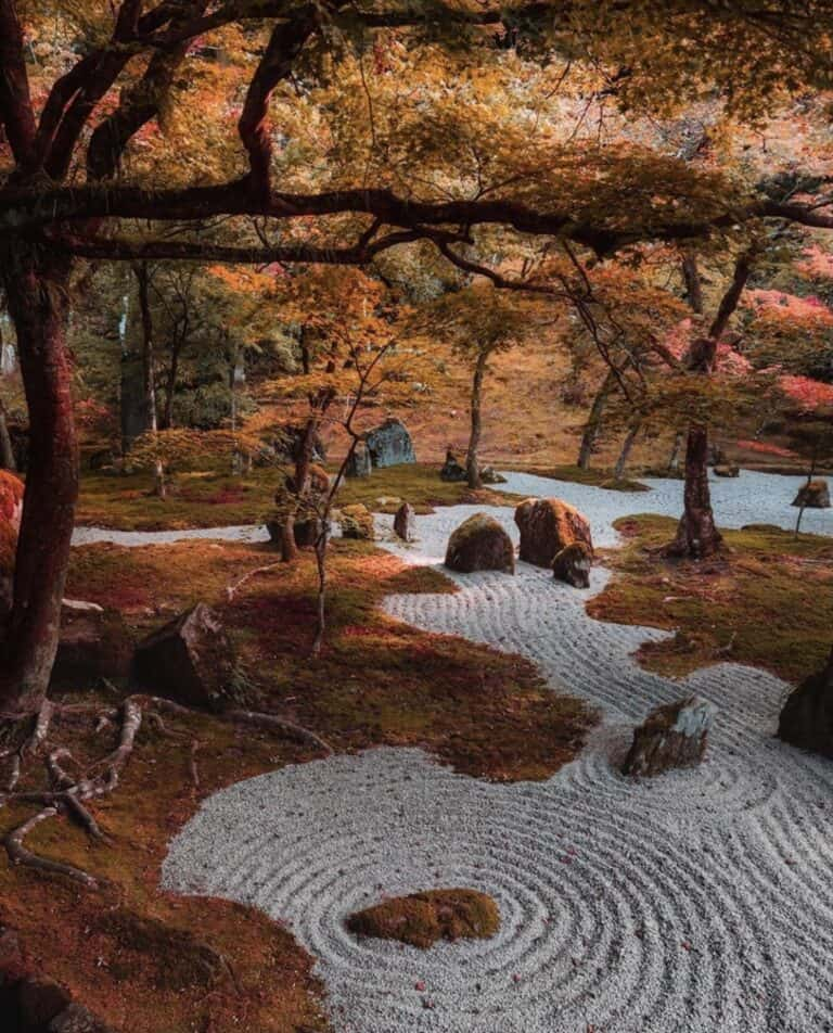 which gravel for a japanese garden