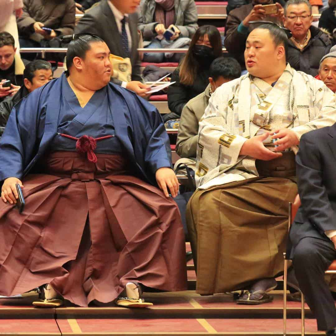 can sumo wrestlers marry