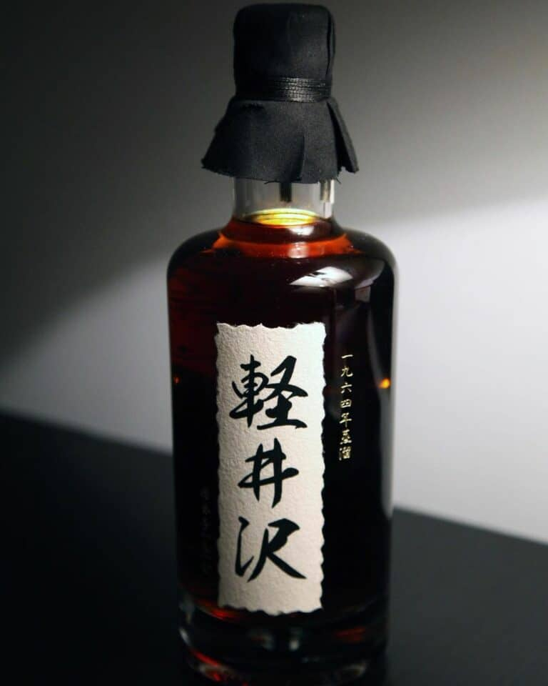 how to store japanese whisky