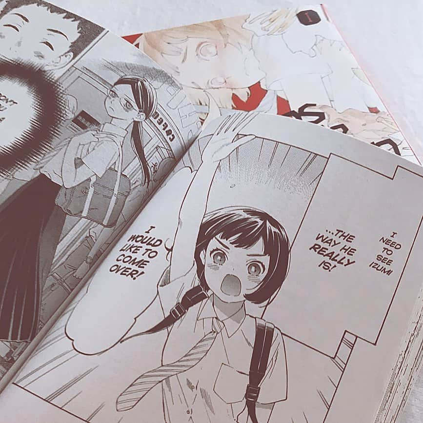 is there manga in english