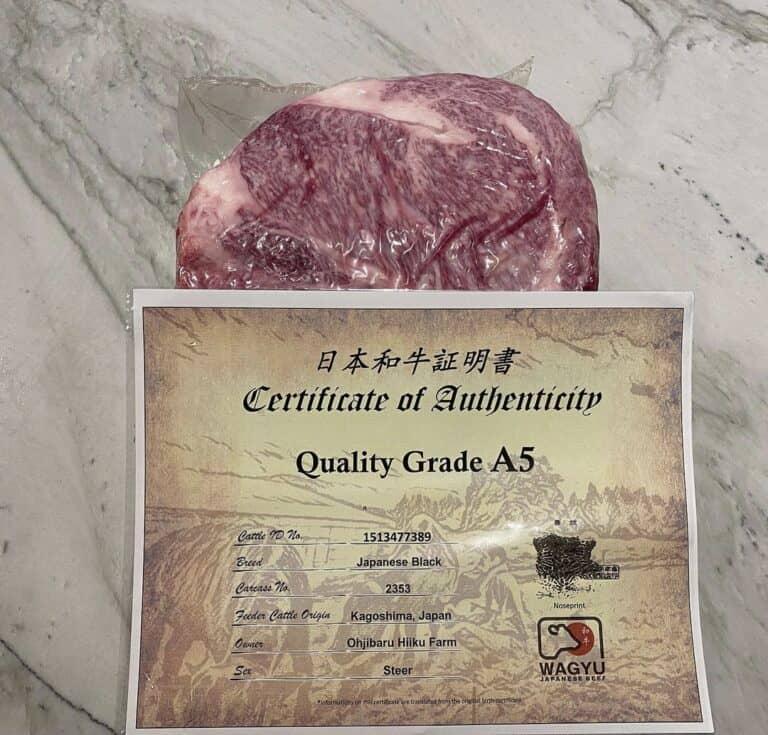What is A5 Wagyu?