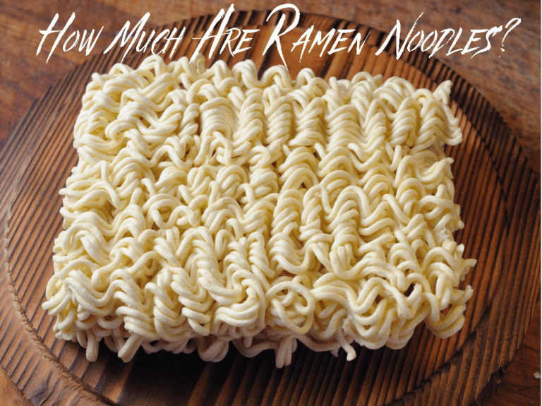 How Much Are Ramen Noodles?