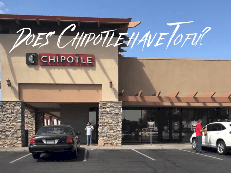 Does Chipotle Have Tofu?